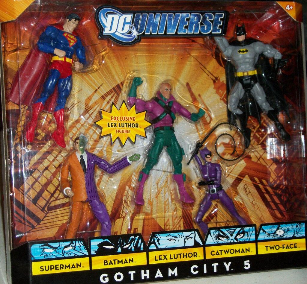Super Friends DC Universe Lex Luthor Superman Batman Catwoman Action Figure Xmas