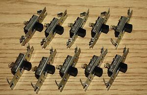 10-Stackpole-Slide-Switch-SPST-Single-Pole-4A-125VAC-2A-250VAC-1A-125VDC