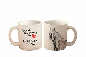 Canadian-horse-Becher-mit-Pferd-Good-morning-and-love-Keramikbecher-DE