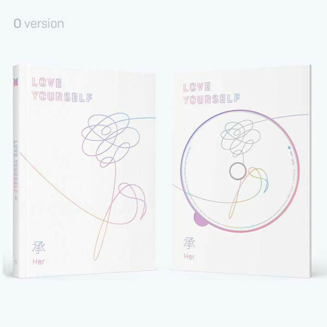 BTS Love Yourself 承 Her 5th Mini Album O Ver  CD Photobook