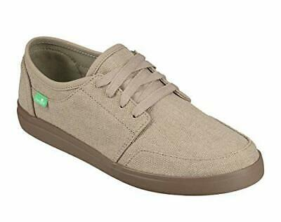 men's shoes sanuk vagabond lace casual canvas sneakers