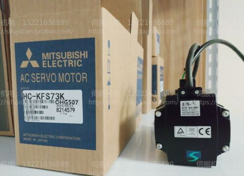 New Mitsubishi AC Servo Motor HC-KFS73K HCKFS73K 750W