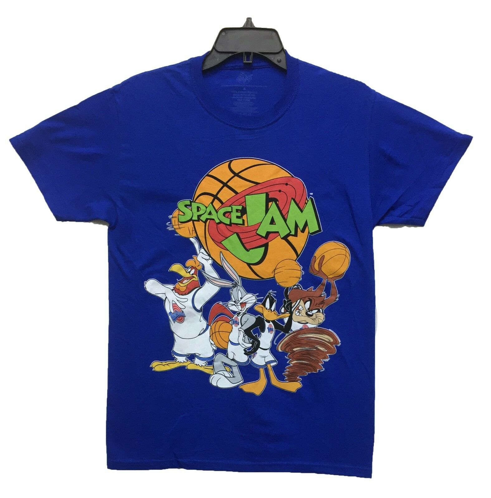 Space Jam Tune Squad Basketball Jersey S-2XL Blue Wile E Coyote #13 Squad