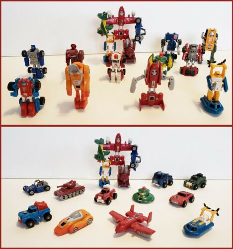 Vintage 1984-1986 G1 Minibot Autobot Transformers Mini Bot Generation 1 Choice