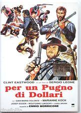 Dvd Per un pugno di dollari di Sergio Leone 1964 Usato