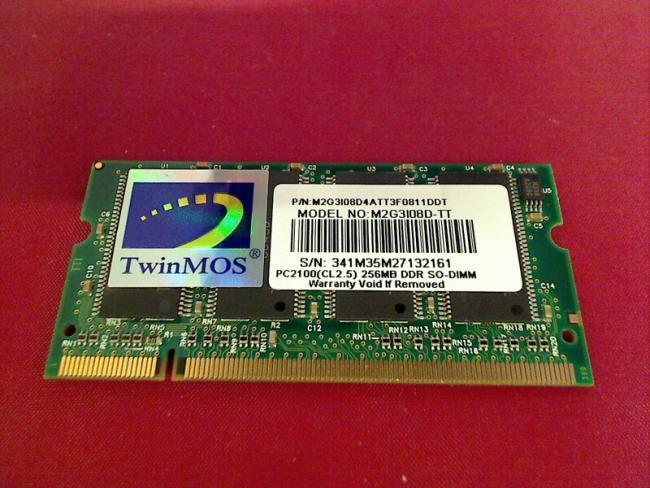 256mb DDR SODIMM pc2100 Random Access Memory AVERATEC 5100 5120cj