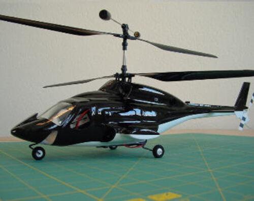 Airwolf Rumpf für 160er Hubschrauber