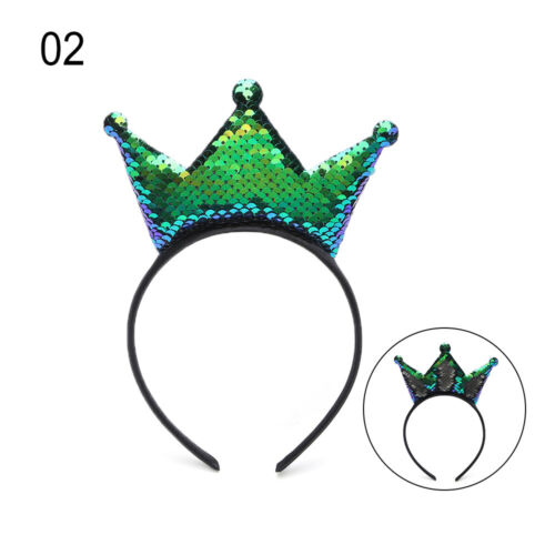 kostüm pailletten stirnband kopfbedeckung mädchen krone haarband cosplay