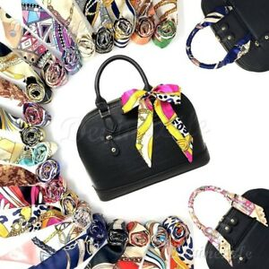 Image Is Loading 2 Pc Silk T Scarf Twill Handbag Handle