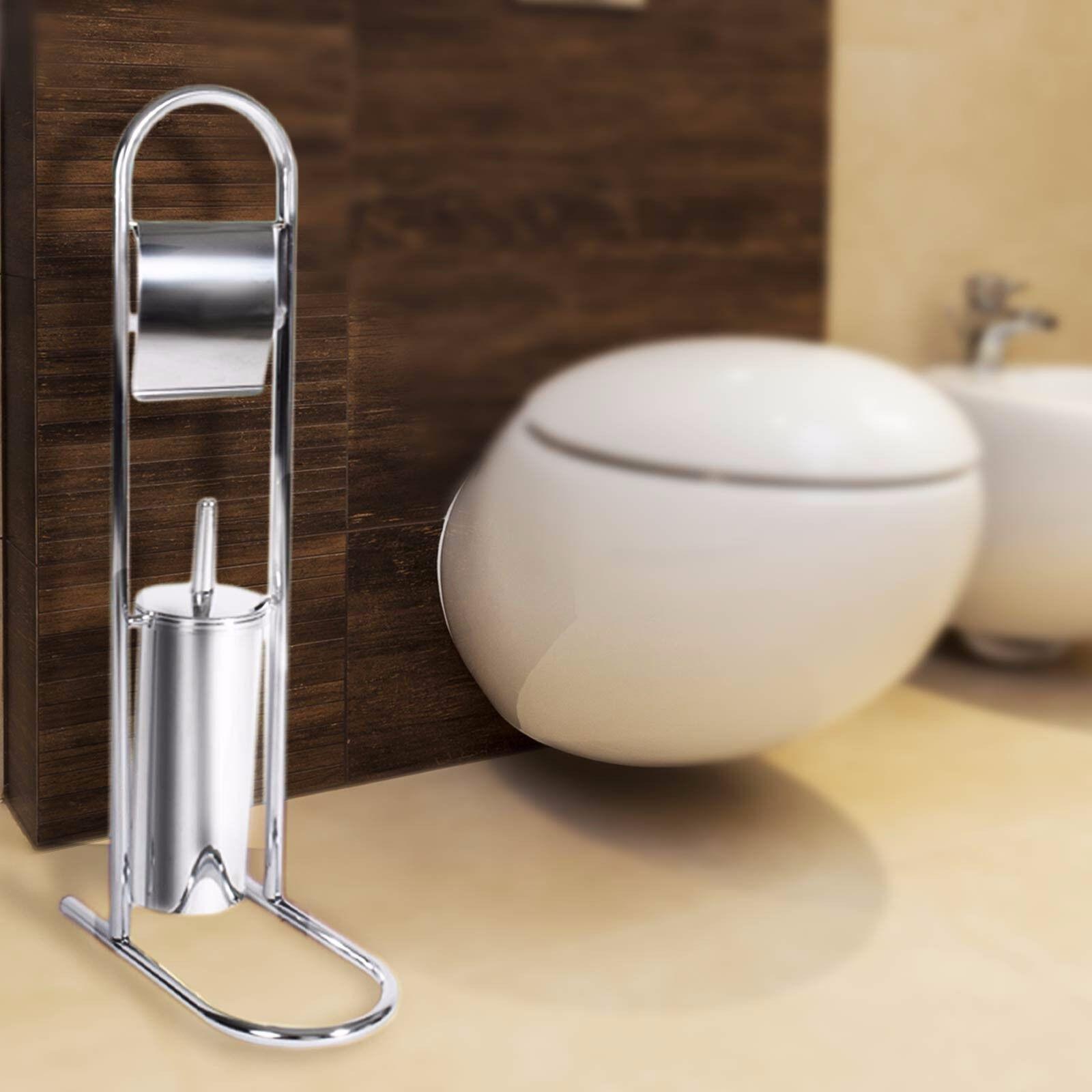 WC-Garnitur Priola   Toilettenpapier- & Bürstenhalter   BxTxH  16x27x71 cm