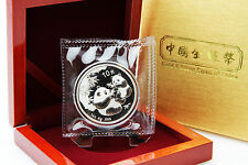 CHINA - 1 oz Silberpanda 2006 in der Folie inkl. Box - TOP ERHALTUNG