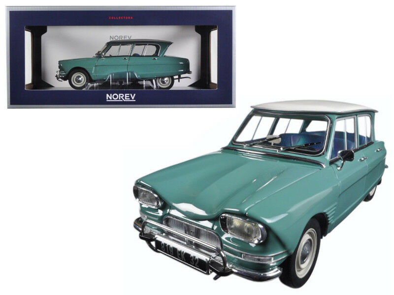 1   18 norev 1964 citroën ami 6 jadegrün ein diecast modell auto grün 181536