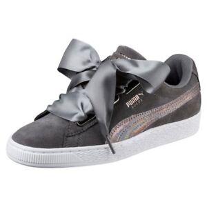 scarpe puma suede donna grigie