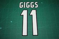 Manchester United 97/99 #11 GIGGS UEFA C/L / FA Cup Final Homekit Nameset