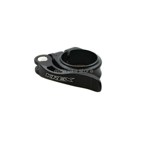 KREX Bike Alloy Seatpost Clamp 31.8mm Red Black Gold 18g