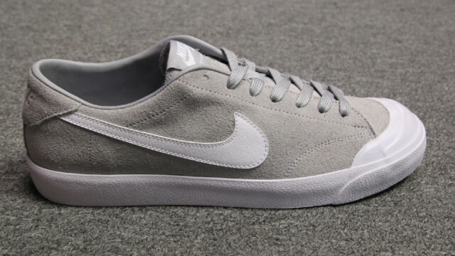 554cb14388ac Nike SB Zoom All Court Ck Wolf Grey White Size 11.5 806306 011 for ...