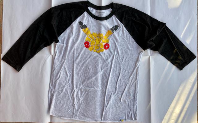 RARE Pokemon 20th Anniversary T-Shirt (Adult, L) NEW
