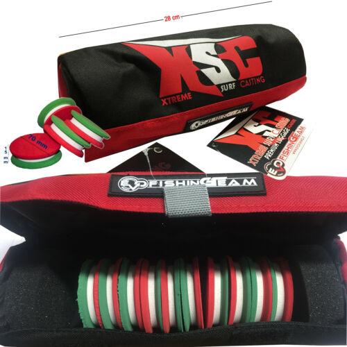 10 Ruzzole Evo Surfcasting XSC Team        CASG KP3236 Custodia Porta Bobine