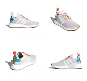 b13e4fb51cc Adidas NMD R2 Summer White   Grey   Gum Mens Running Shoes CQ3080 ...