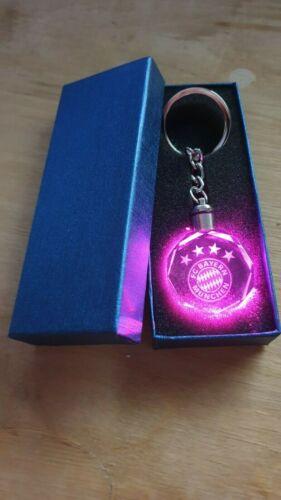 Bayern München LED Schlüsselanhänger mit Geschenkbox Top Qualität