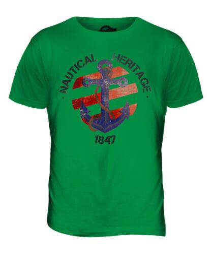 NAUTICA Heritage 1847 Uomo T-Shirt Tee Top Abito Regalo Accessori