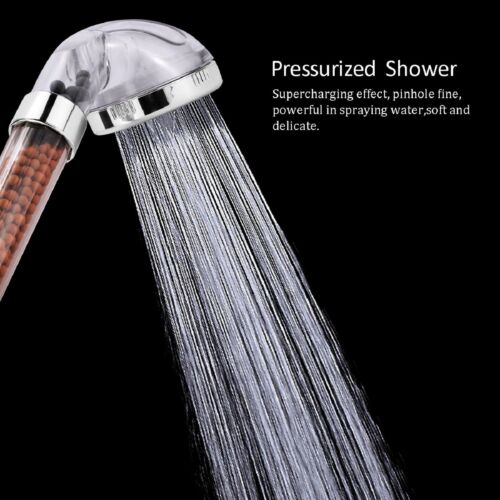 Ionic Filtration SHOWER HEAD HIGH PRESSURE 200 /% Turbocharged 30/% Water Saving