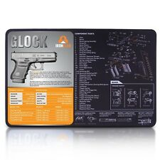 3mm thick neoprene gun cleaning mat - 17 x 11 waterproof and oil resistant  hand