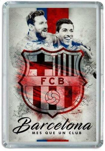 Iman Nevera FC BARCELONA MESSI Panoramico Futbol Soccer Football Fridge Magnet