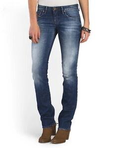 55a30f23 DIESEL Myboy Sz 25 L 32 Blue Jeans Women's $198 NWT | eBay