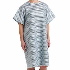 12 PACK HOSPITAL PATIENT GOWN MEDICAL EXAM ECONOMY GRADE COMFORTABLE NEW GOWNS