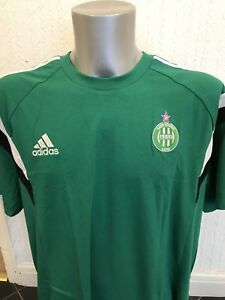 adidas Saint Etienne Tee Sizes L, XXL Green RRP £30 BNWT D10639
