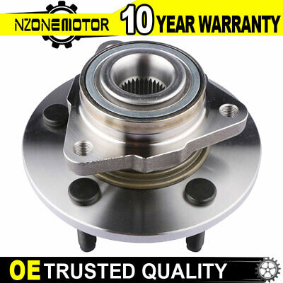 10 x For 2002-2005 Dodge Ram 1500 2WD Front Wheel Bearing /& Hub Tie Rod Non ABS