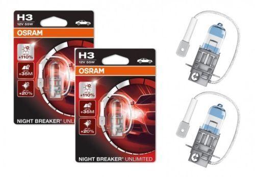 2x Osram D1S D2S D3S D4S H1 H3 H4 H7 H8 H11 HIR2 Bleu Cool Nuit Breaker Xenon