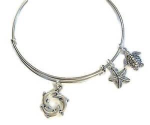 BEACH-IV-Dolphin-Starfish-Turtle-charm-bangle