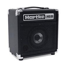 Hartke HD15 15-Watt Bass Combo Amp Practice Small Venue Gig Bedroom Amplifier