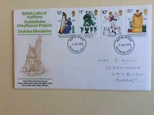 Post-Office-First-Day-Cover-British-Cultural-Traditions