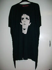 House Of The Gods Lou Reed Transformer T-Shirt Black Ladies Size Small - Box15 i