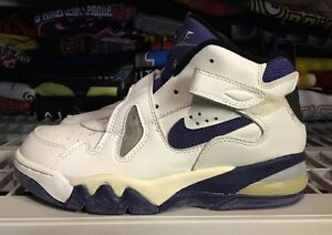 2d1cb7aa043fd Air Force Max CB White Navy Og 1993 Unwearable Cracked Rare Ds ...