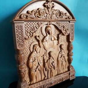 Hoge-kwaliteit-034-Faith-Hope-Charity-034-moeder-Sofia-Russisch-Orthodox-Icon