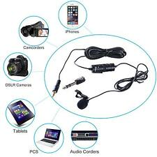 Fit Boya BY-M1 Lavalier Microphone for Canon Nikon DSLR Camcorder Audio Recorder