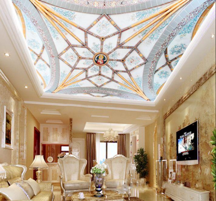 3D Flowery Art 00 Ceiling WallPaper Murals Wall Print Decal Deco AJ WALLPAPER GB
