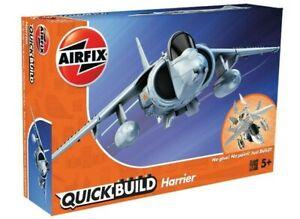 AIRFIX-QUICK-BUILD-HARRIER-MODEL-AIRCRAFT-KIT-RAF-FIGHTER-JET-PLANE-KIT-J6009