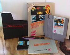 Metroid (Nintendo NES, 1987)Silver Complete in Box CIB
