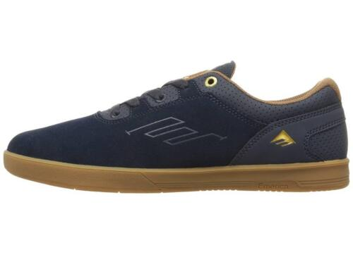 EMERICA 6102000108 460 WESTGATE CC Mn/'s Navy//Gum Suede//Leather Skate Shoes M