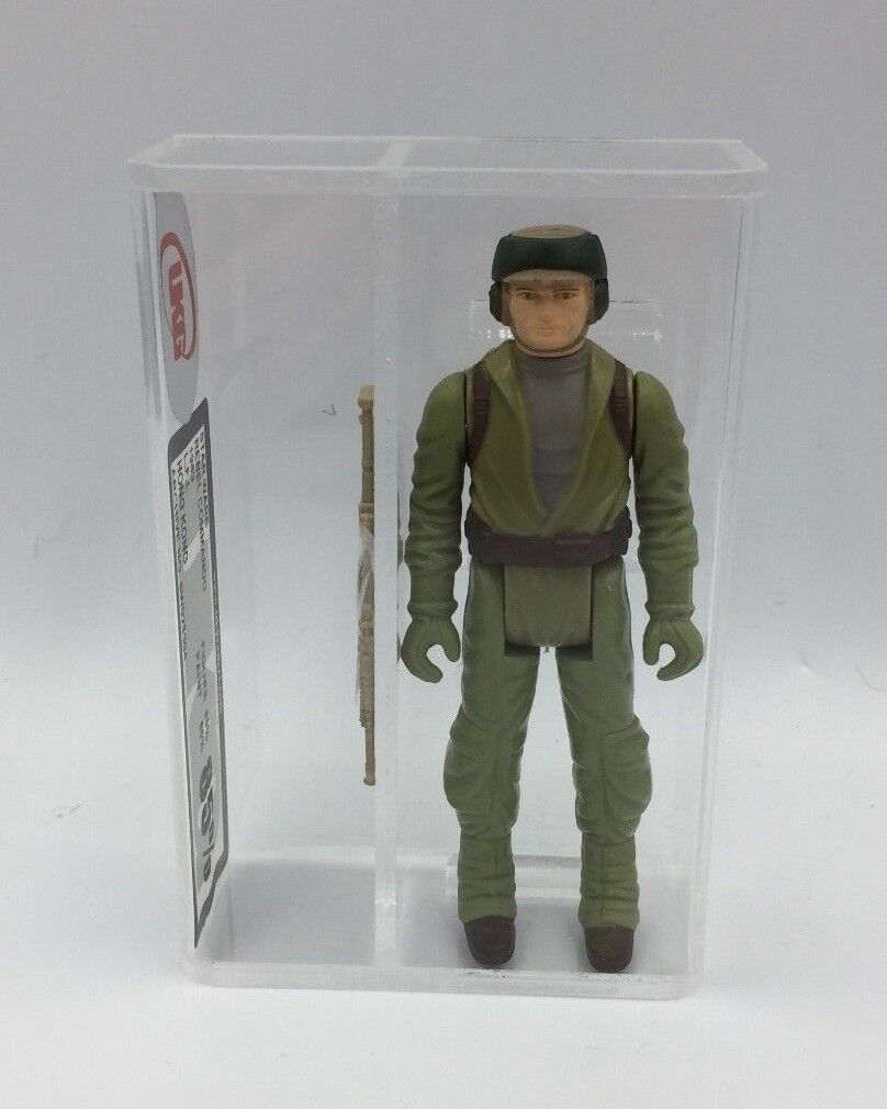 1983 Vintage Star Wars Rebel Commando Kenner Loose Figure UKG not AFA 85% Graded