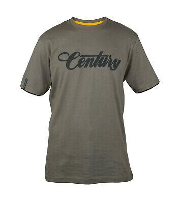 Century Carp Sea Fishing Rods Dark Grey T-Shirt NEW