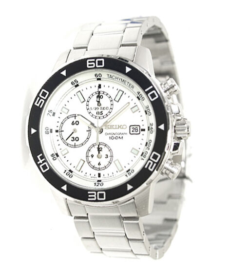 Seiko Chronograph 100m Mens Watch Snd797 for sale online  070019d4a405
