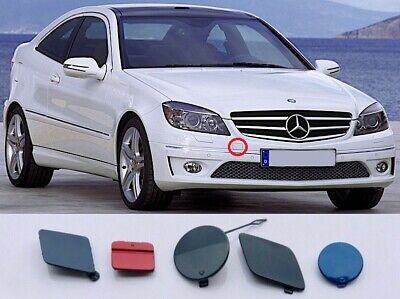 Genuine New MERCEDES FRONT TOW EYE COVER For CLC-Class CL203 2008-2011 Coupe