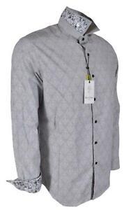 Robert Graham Kinderhook Skull Head Sport Shirt Purple $268