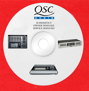 Details about Qsc Audio Repair Service owner manuals on 1 dvd in pdf on